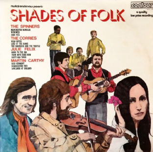 V/A - Shades Of Folk (LP) (VG-/VG-)